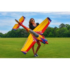 """70"""" Extra 300 EXP V2 - Red/Blue/Yellow 1,77m - Electric version"""