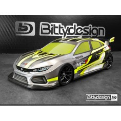Bittydesign HC-F 190mm FWD Clear Body