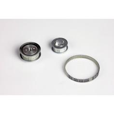 Conversion kit on belt pulley Schottel d