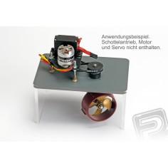 Einbauplatte zu Schottel III / Twinpod