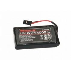 Senderakku flach Li 1SxP/4000 3,7V TX