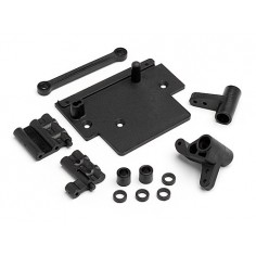 Bullet Flux Esc Plate And Steering Bellcrank