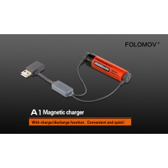 Folomov A1 Li-Ion magnetinis USB įkroviklis 1000mA