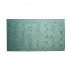 25x4s 18650 4s izoliacinis popierius papildomai apsaugai, apačia